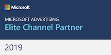 Microsoft Advertising Elite Channel Partner | 2019